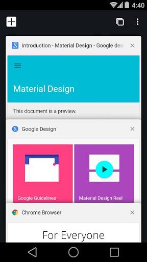 Image of Chrome Beta 90.0.4430.40 1