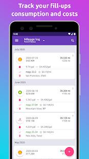 Fuelio: gas log, costs, car management, GPS routes 7.11.5 Screenshots 3