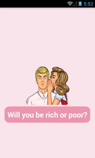 Will You Be Rich? Personality Test 4.0 screenshots 1