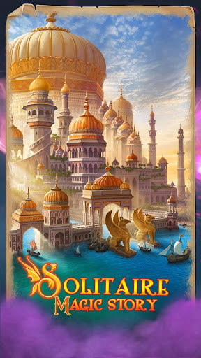 Solitaire Magic Story Best Offline Cards Stories modiapk screenshots 1