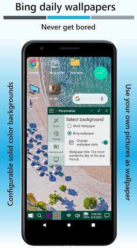 Win-X Launcher (No ads) Apkfinish screenshots 2