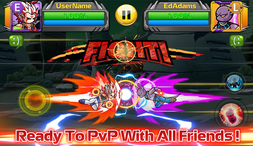 Stickman PvP Online - Dragon Shadow Warriors Fight  screenshots 1