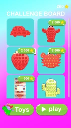 Pop It Challenge 3D! relaxing pop it games apktram screenshots 8