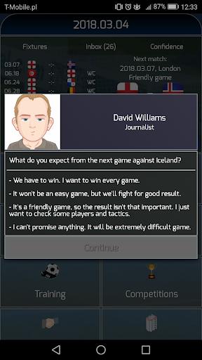 True Football National Manager  screenshots 2