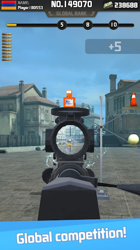 Shooting Hero: Gun Shooting Range Target Game Free 3.0 screenshots 2