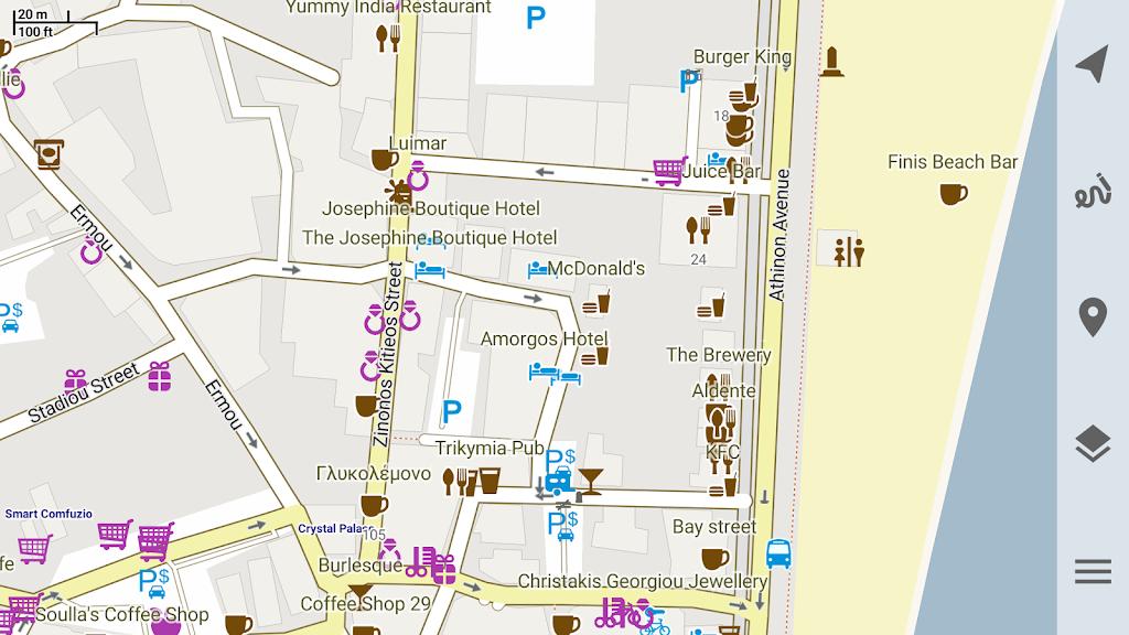 Trekarta - offline maps for outdoor activities  poster 10