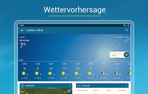 RegenRadar - mit Unwetterwarnung apktram screenshots 8