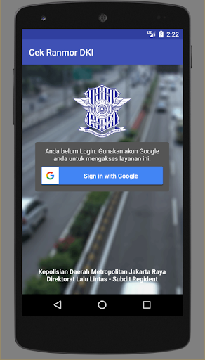 Cek Ranmor & Pajak DKI Jakarta 1.028 Screenshots 1