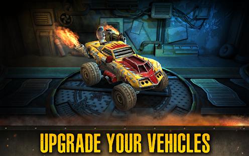 Dead Paradise: Car Shooter & Action Game 1.7 Screenshots 5