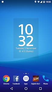 Digital Clock and Weather Widget MOD APK (Premium Unlocked) 3