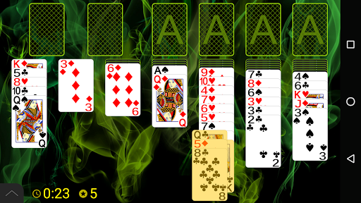 Russian Cell Solitaire screenshots 1