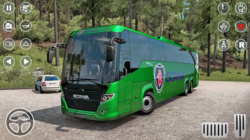 Public Coach Bus Transport Parking Mania 2020 apkmartins screenshots 1