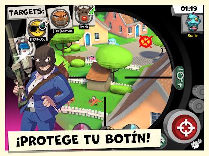 Cecchini contro ladri: classico!  Immagine dello schermo