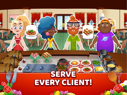 My Pasta Shop - Italian Restaurant Cooking Game modavailable screenshots 7