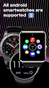 SmartWatch app for android & Bluetooth notifier Screenshot