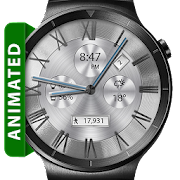 Classic White HD WatchFace Widget & Live Wallpaper