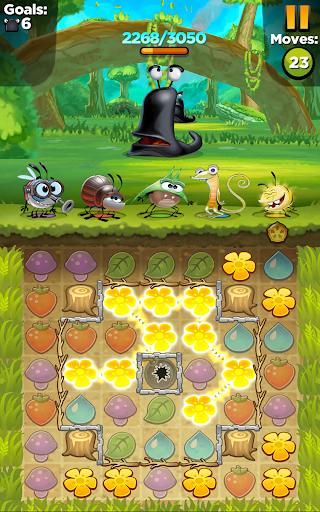 Best Fiends - Free Puzzle Game apkpoly screenshots 22