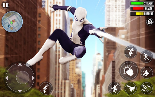 Spider Rope Hero 3D: Gangstar Vegas Crime apkslow screenshots 14