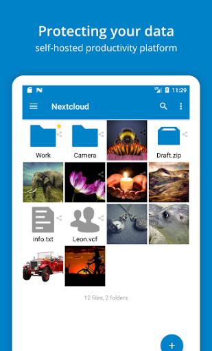 Nextcloud 3.14.1 Screenshots 1