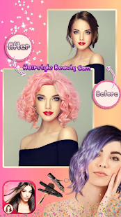 Hairstyle Camera Beauty : Hair Changer Photo Edit 1.2 Screenshots 21