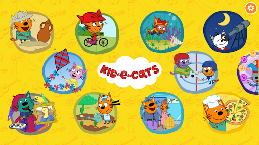 Kid-E-Cats. Educational Games  screenshots 1
