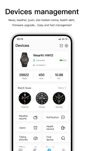 Wearfit Pro apkdebit screenshots 3