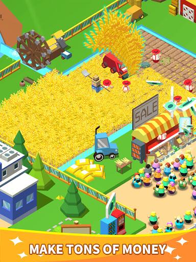Idle Leisure Farm - Cash Clicker screenshots 7