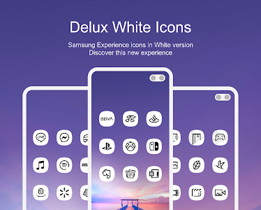 Delux White - Icon Pack 1.0 (Mod) (Sap)