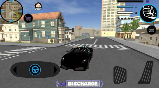 Neon Iron Stickman Rope Hero City Gangstar Mafia  Screenshots 5