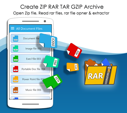 Rar Extractor for Android: Zip Reader, RAR Opener 1.7.2 screenshots 1
