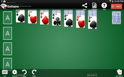 Solitaire 1.3.13 screenshots 9