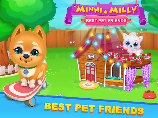 Kitty & Puppy Best Friends Pet Vet Care  screenshots 1