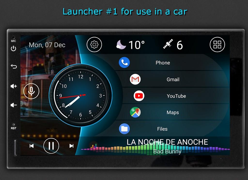 Car Launcher Pro  poster 8