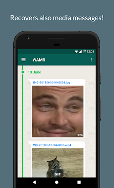 WAMR - Recover deleted messages & status downloadのおすすめ画像3
