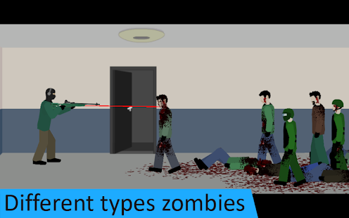 Flat Zombies: Defense & Cleanup Screenshot