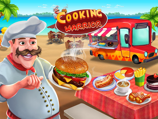 Cooking Warrior: Cooking Food Chef Fever screenshots 1
