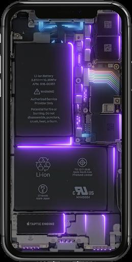 Phone Electricity Live Wallpaper  Screenshots 5