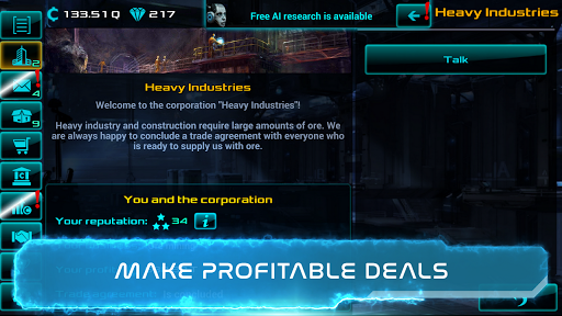 Business Clicker: Sci-Fi Magnate and Capitalist 2.0.14 screenshots 4