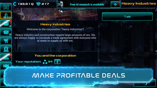 Business Clicker: Sci-Fi Magnate and Capitalist Mod Apk (Unlimited Money) 4
