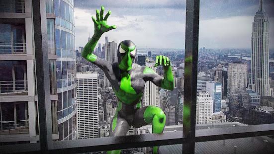 Rope Frog Ninja Hero - L'étrange gangster de Vegas screenshots apk mod 2