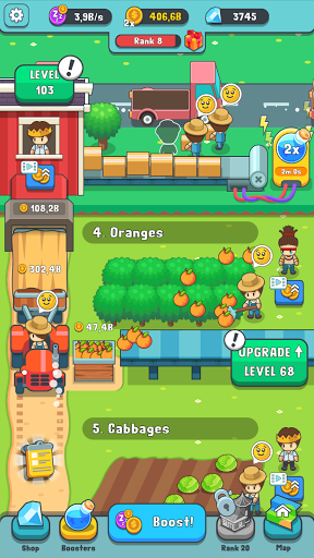 Juice Farm u2013 Idle Harvest 2.2.1 screenshots 4