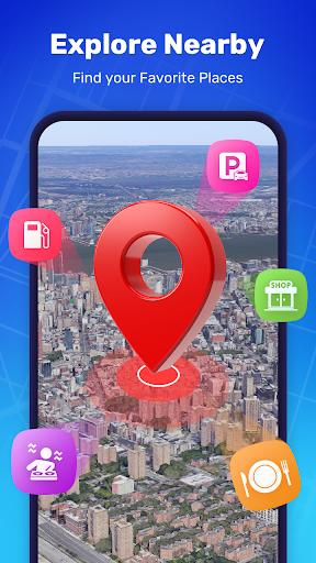 GPS Route Finder - GPS Location, Map Navigation apktram screenshots 4