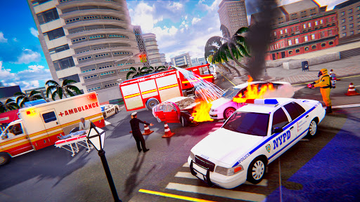 Emergency Rescue Service- Police, Firefighter, Ems apktreat screenshots 2