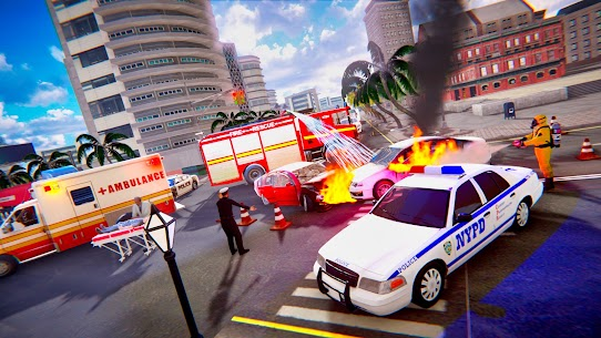 Emergency Rescue Service- Police, Firefighter, Ems 2