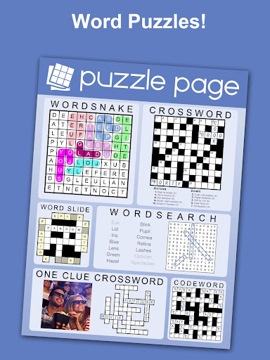 Puzzle Page - Crossword, Sudoku, Picross and more 3.62 screenshots 3