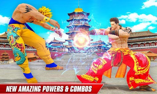 Kung Fu Fight Arena: Karate King Fighting Games MOD (Unlimited Gold) 2