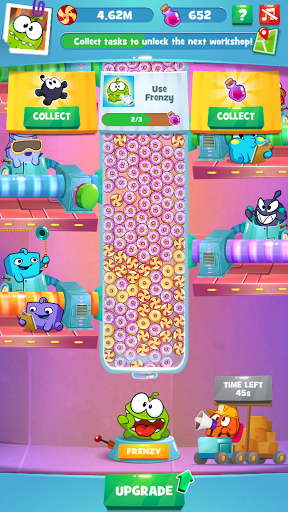 Om Nom Idle Candy Factory modavailable screenshots 1