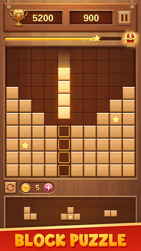 Wood Block Puzzle - Free Classic Brain Puzzle Game 1.5.0 screenshots 1