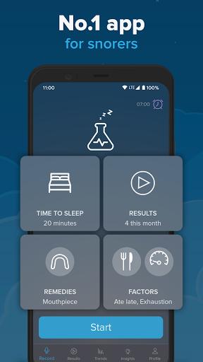 SnoreLab : Record Your Snoring apktram screenshots 3
