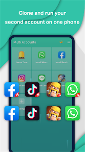 Multi Accounts - Parallel Space & Dual Accounts